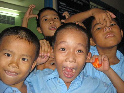 Kids in kidshuis