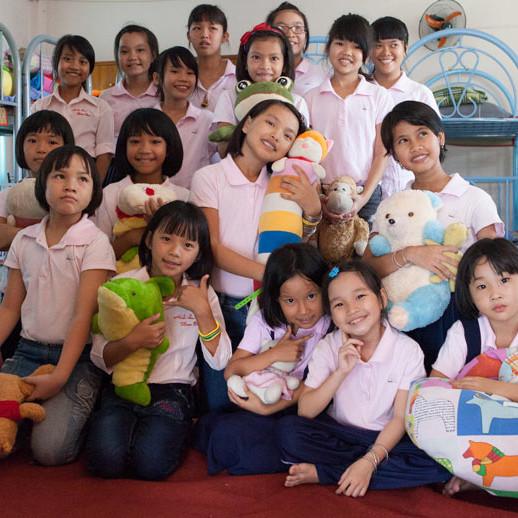 Groepsfoto Lotus Kids House