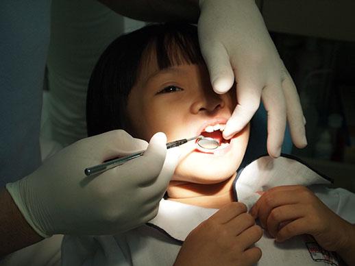 jaarlijkse controle bij de tandarts